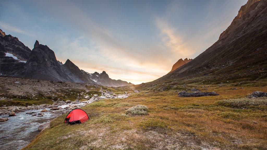 Camp Site in Stordalens Havn