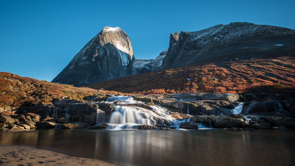 Waterfall Klosterdalen