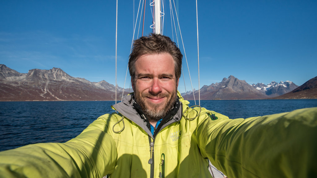 Me in Tasermiut Fjord